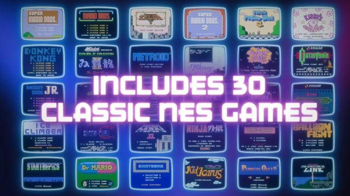 NES Classic possui 30 jogos em sua memória (Foto: Divulgação/Nintendo)