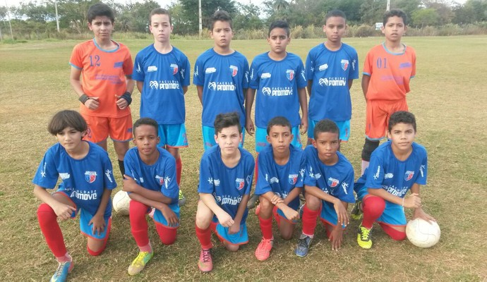 Equipe do Funortinho busca classificação (Foto: Funorte F.C/Divulgação)