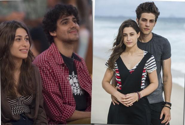 """No ar em """"Babilônia"""", Luisa Arraes diz que namorado não tem ciúmes de cenas com Chay: """"São até amigos"""""""