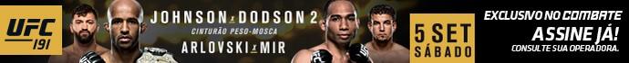 Banner UFC 191 Combate (Foto: Combate)