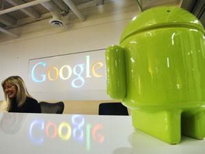 O sistema operacional móvel do Google, Android, atingiu mais de 72% de participação de mercado (Foto: Mark Blinch/Reuters)