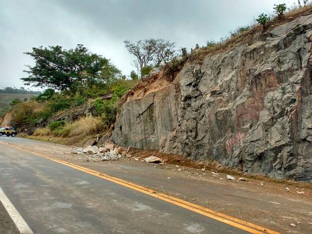Detonação de rochas vai interditar via por 45 minutos a partir das 12h (Foto: Divulgação/ViaBahia)