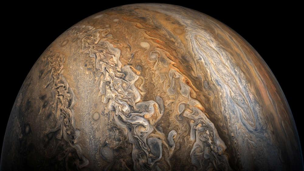Júpiter (Foto: NASA / SwRI / MSSS / Gerald Eichstädt / Seán Doran)