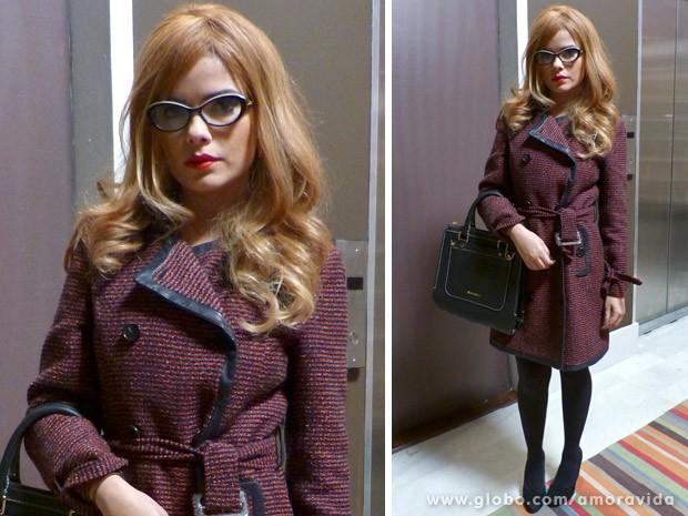 Vanessa Giácomo usa peruca loira em Amor à Vida
