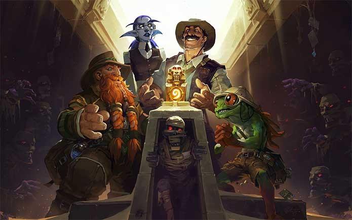 Hearthstone: Heroes of Warcraft vira jogo de aventura com Liga dos Exploradores (Foto: Reprodução/Blizzard)