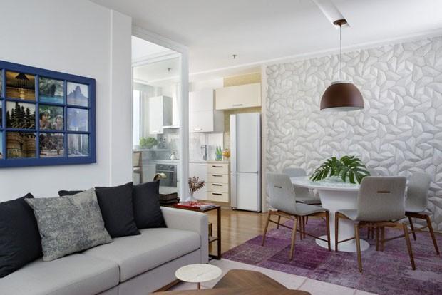 Apartamento pequeno: reforma transforma 30 m² em 65 m² (Foto: Denilson Machado/MCA Estúdio)