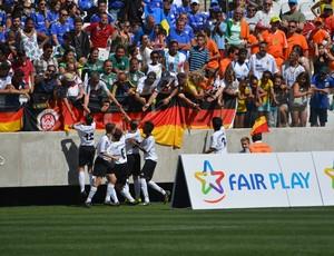 Brasil x Alemanha sub-12 - Torneio Internacional de Nações - Copa Danone (Foto: Vitor Geron)