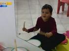 Através da música, associação promove a inclusão de autistas