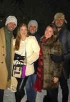 Marina Ruy Barbosa posa com bolsa de R$ 7 mil em viagem à Suíça
