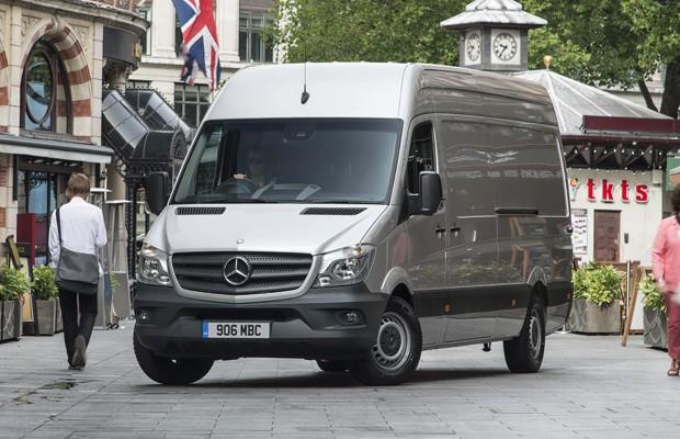 Mercedes-Benz Sprinter facelift (Foto: Divulgação)
