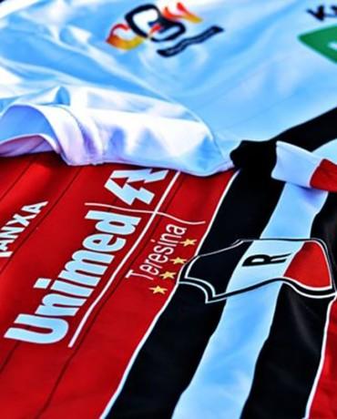 Nova camisa River-PI (Foto: Divulgação)