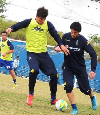 Santo André treino (Foto: Fabrício Cortinove/E.C. Santo André)
