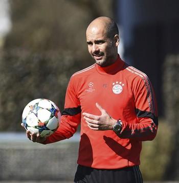 Guardiola, treinador do Bayern (Foto: EFE)