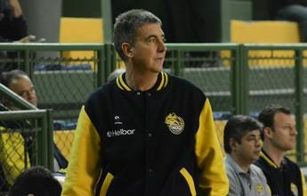 """Guerrinha elogia início do Mogi, mas define segundo tempo como """"terrível"""""""