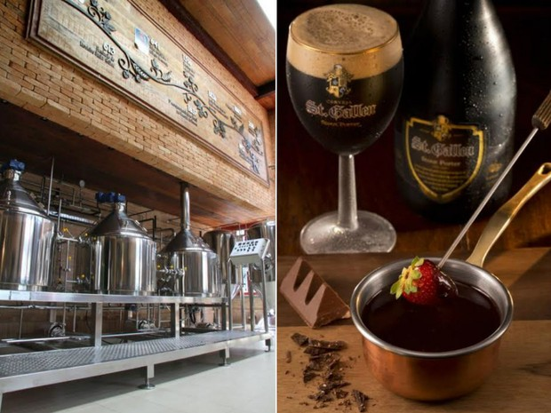 Cervejaria já tem mais de um século de história (Foto: Divulgação / St. Gallen)