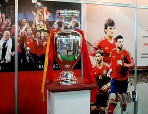 taça eurocopa soccerex (Foto: Cíntia Barlem / Globoesporte.com)