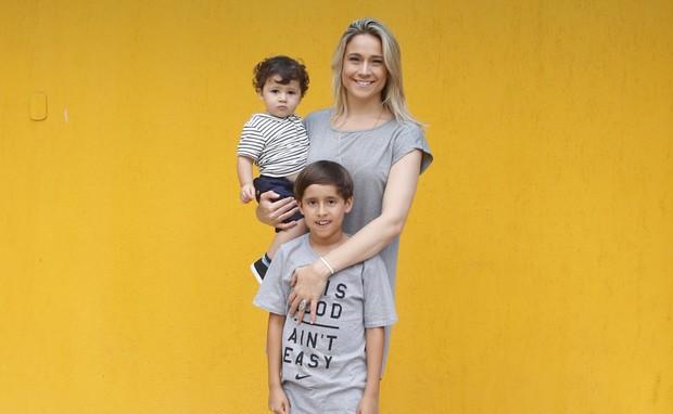 Aniversario da Apresentadora Fernanda Gentil (Foto: AgNews  / AgNews)