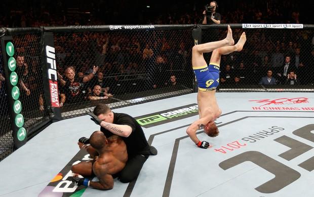 Alexander Gustafsson x Jimi Manuwa MMA UFC (Foto: Getty Images)