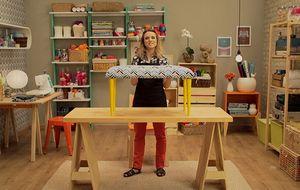 Aprenda a fazer um banco estofado 'do zero' para decorar a casa