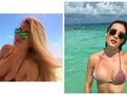 Aline Gotschalg conta que reduziu seios: 'Leite aumentou o tamanho'