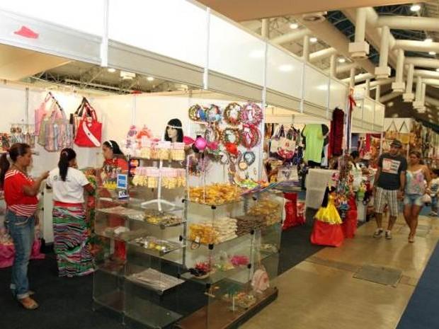 Feira Mundial do Artesanado em Belém Hangar (Foto: Agência Pará)