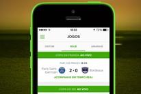 App Placar GE: siga os jogos do seu time com notificações no celular (arte esporte)