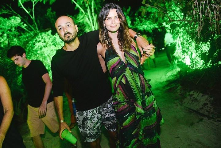 Roger Rodrigues e Fernanda Motta  (Foto: André Ligeiro)