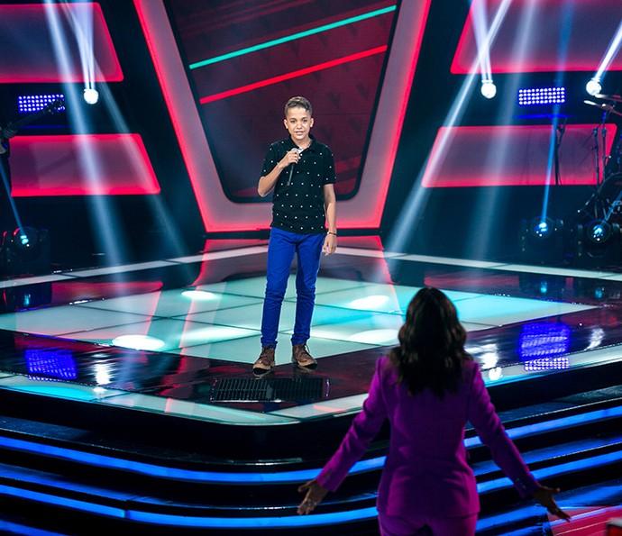 Matheus Quirino é aprovado na segunda tarde de Audições (Foto: Isabella Pinheiro/Gshow)
