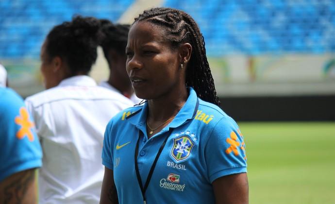RN - Formiga - seleção brasileira (Foto: Jocaff Souza/GloboEsporte.com)