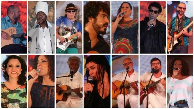 Saiba quem é quem no especial da TV Bahia (Divulgação)