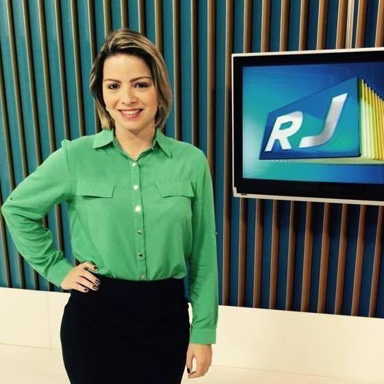 Apresentadora do RJ2 Alto Litoral, Cristina Frazão (Foto: Cristina Frazão/ Arquivo Pessoal)