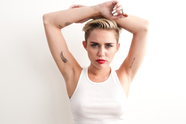 Miley Cyrus (Foto: Terry Richardson/Site Oficial)