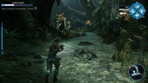 Imagens do jogo Avatar.