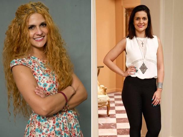 Paula Barbosa fez uma mudança radical! (Foto: Estevam Avellar/ TV Globo - Raphael Dias/Gshow)