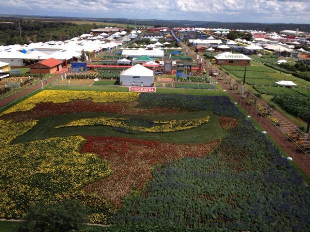 Show Rural 2015 segue até sexta-feira (6), em Cascavel (Foto: Fernando Lopes/ RPC)