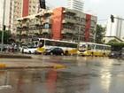 Acidente deixa trânsito congestionado na Almirante Barroso