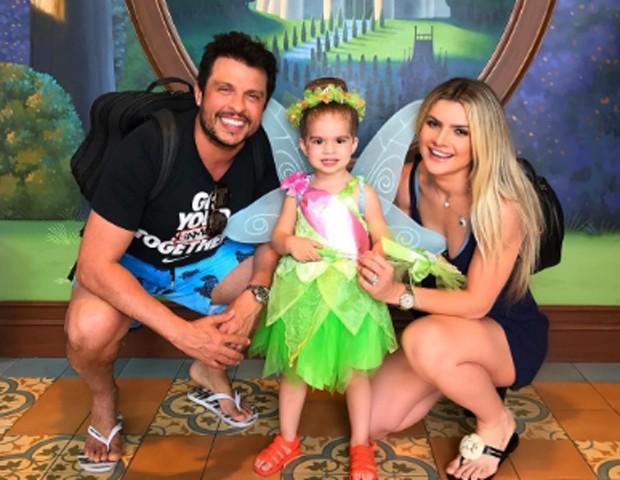 Valentina, filha de Ceará e Mirella Santos (Foto: Reprodução/Instagram)
