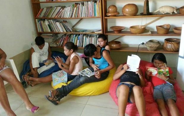 Jovens recebem capacitação no projeto Mão Jovem, em Feijó  (Foto: Divulgação/IFA)