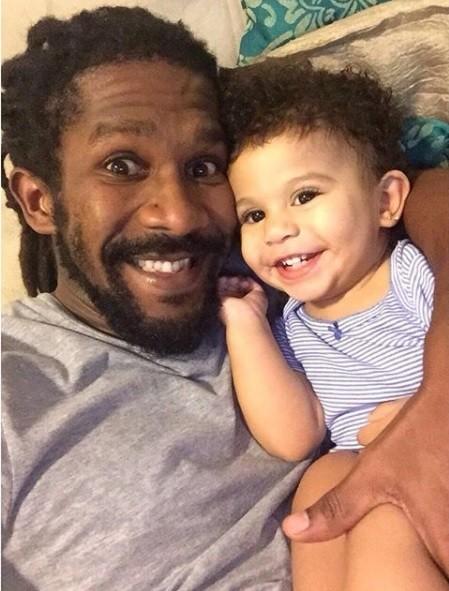 André Luiz Miranda e a filha, Beatriz (Foto: Reprodução / Instagram)