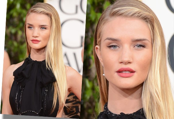 Rosie Huntington-Whiteley é dona de lábios impecáveis (Foto: Getty Images)