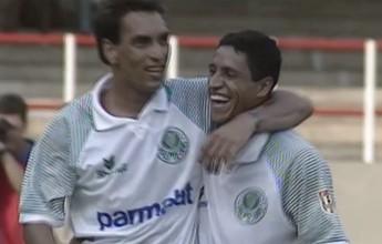 Na memória: Com gols de Edmundo e Edílson, Palmeiras vence Galo por 3 x 2