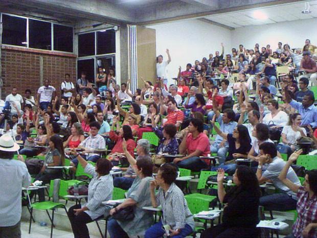 Professores decidiram terminar a greve no dia 13 de setembro. (Foto: Comando de Greve/Divulgação)