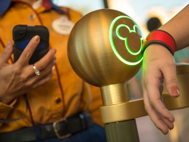 Pulseira controlada por radiofrequência testada nos parques da Disney (Foto: Divulgação)