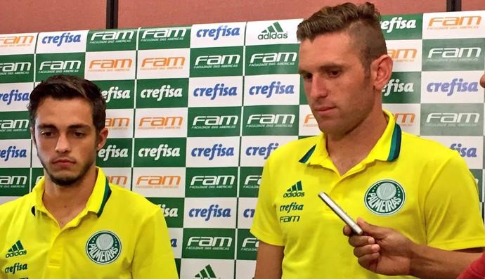 Hyoran Fabiano Palmeiras Chapecó (Foto: Cahê Mota)