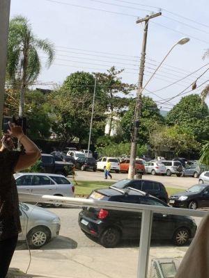 Saruê chamou a atenção de moradores  (Foto: Jéssica Cristina Gonçalves/Arquivo Pessoal)
