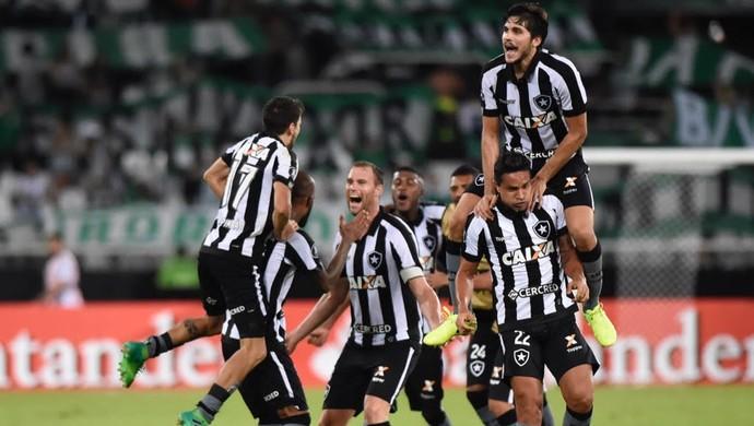 Botafogo x Atlético Nacional (Foto: André Durão)