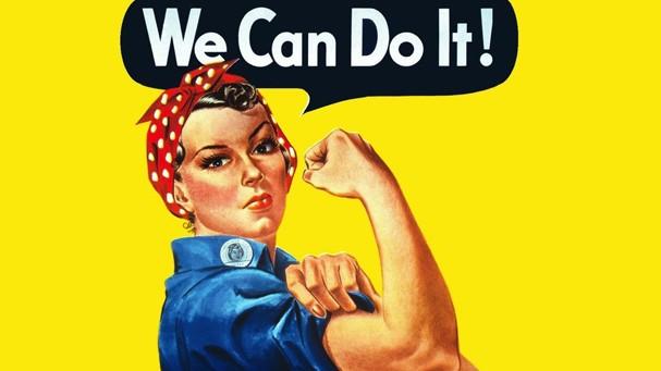 Girl Power: só a gente tem a impressão de que a imagem aí é atualíssima?! (Foto: Reprodução)