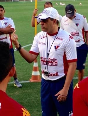 Marcelo Chamusca, treino, Fortaleza, Arena Castelão   (Foto: Nodge Nogueira / Divulgação )