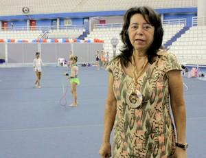Ginástica amazonense - presidente da FAG Arthemis Soares (Foto: Isabella Pina)