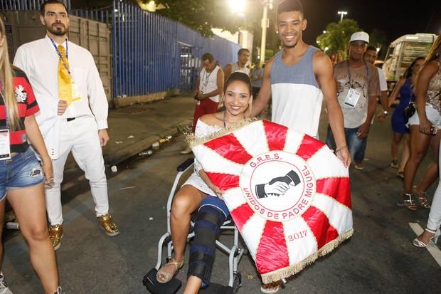 Jéssica Ferreira e Vinicius Antunes (Foto: Anderson Barros / EGO)